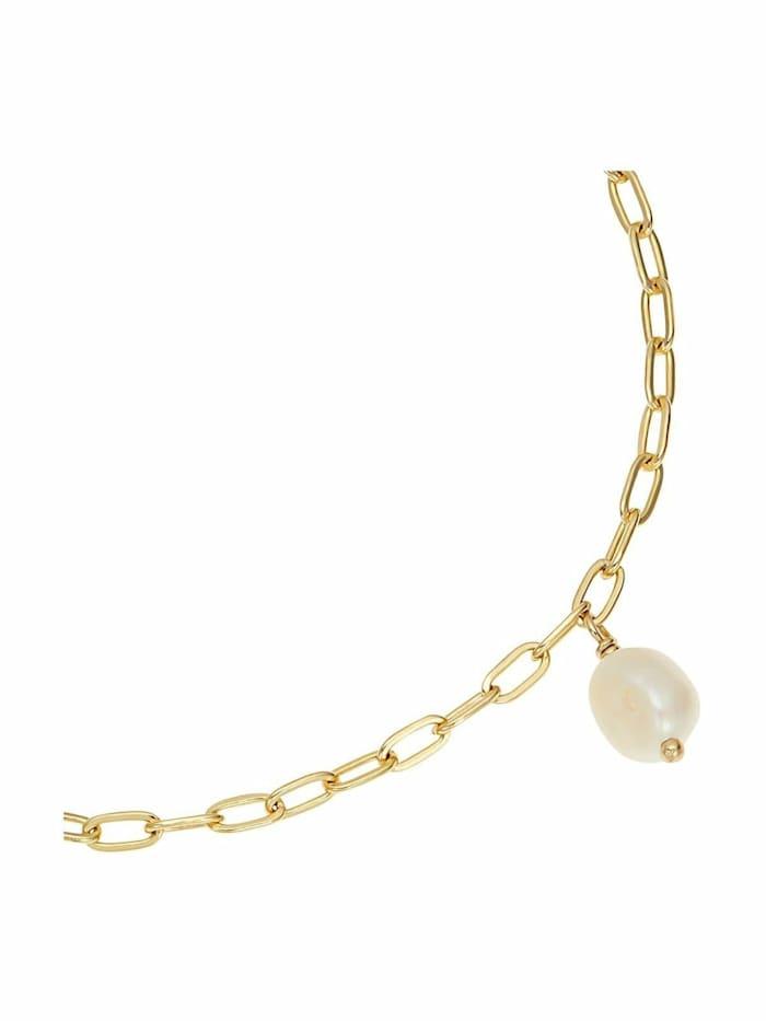 Armband für Damen, Sterling Silber 925, Süßwasserzuchtperle