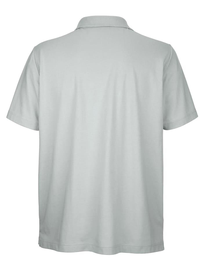 Poloshirt mit Druckmuster