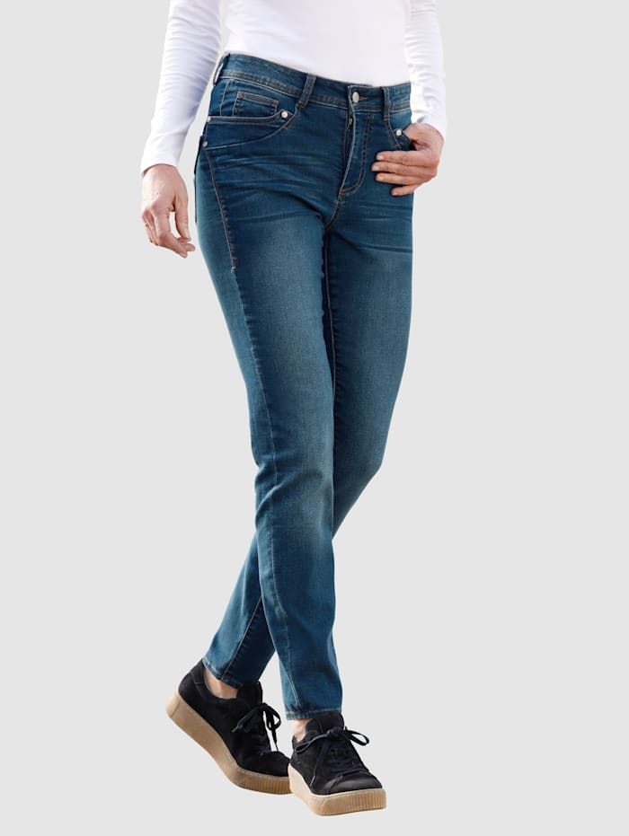 Dress In Jeans i klassisk 5-ficksmodell, Dark blue
