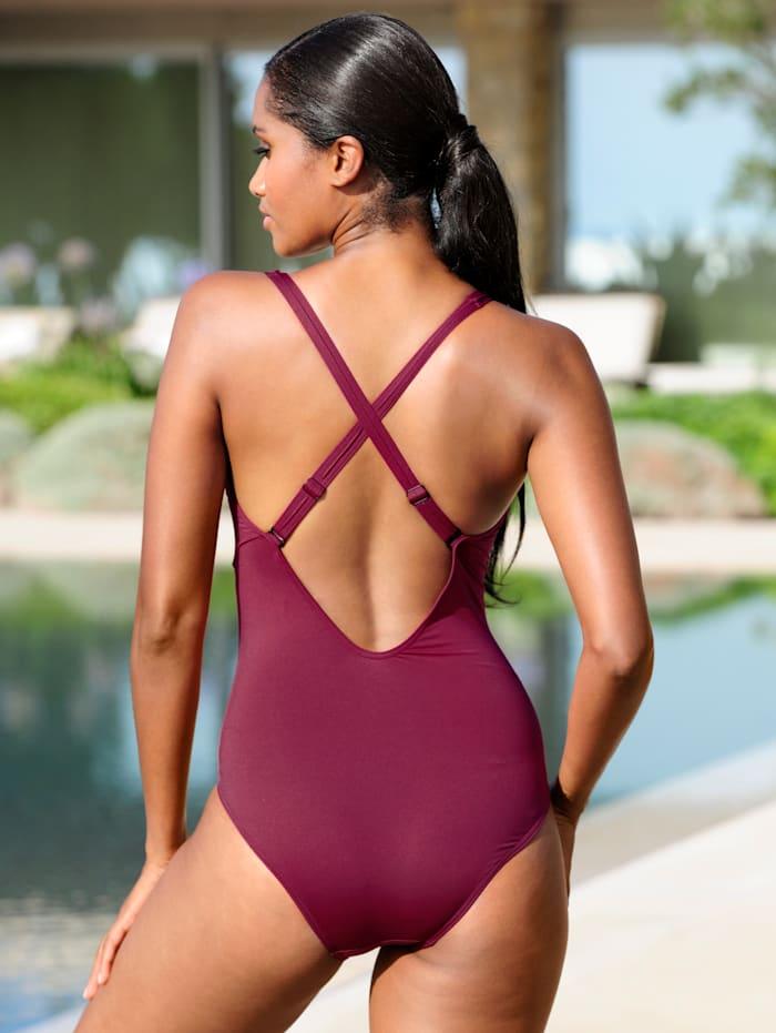 Badeanzug mit Zierteil