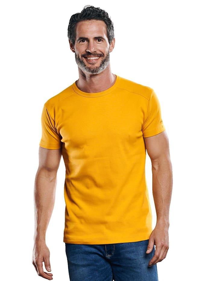 Engbers Modisches T-Shirt aus der My Favorite Kollektion, Ockergelb