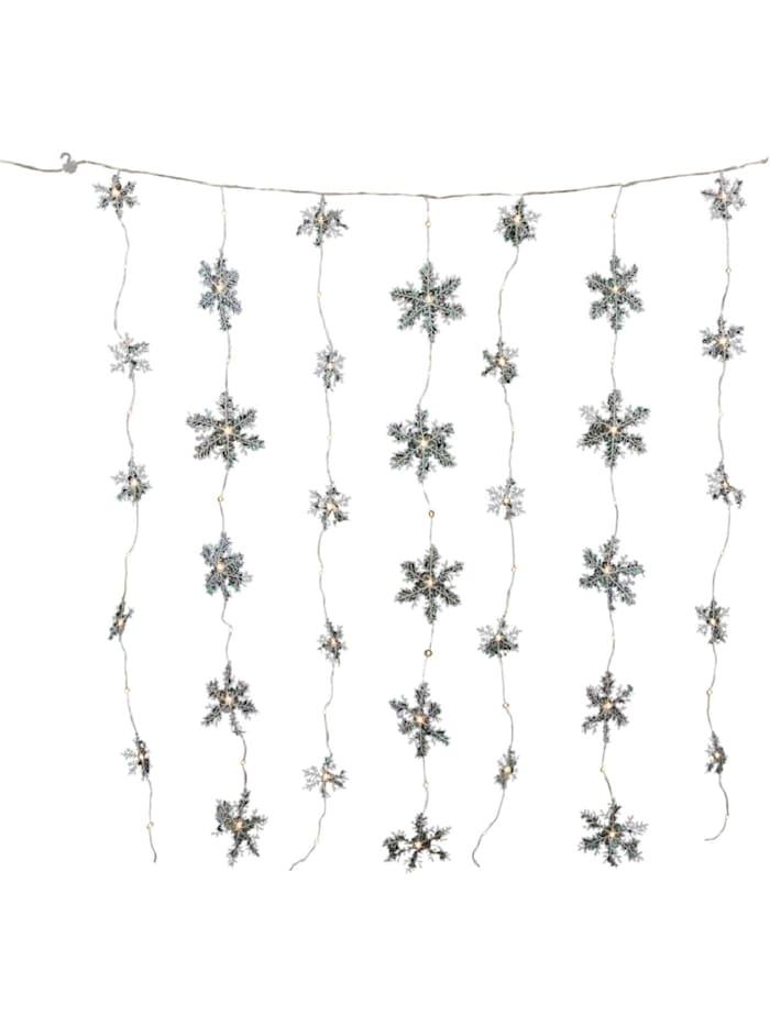 Living LED-Vorhang, Weiß