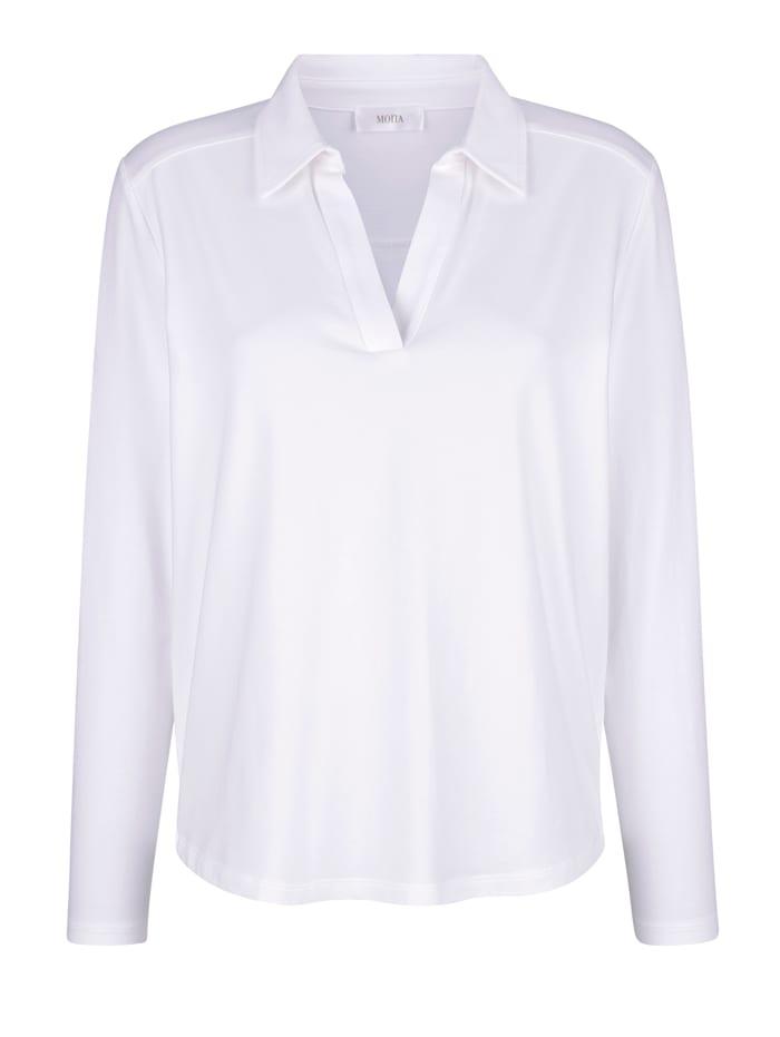 Shirt mit Polokragen