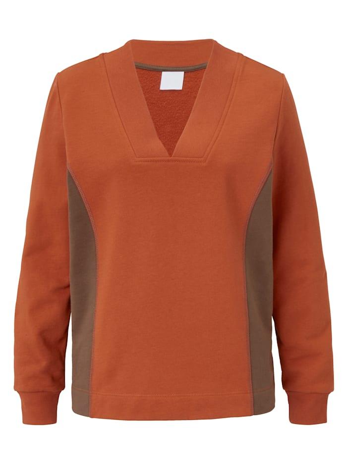 REKEN MAAR Sweatshirt, Orange
