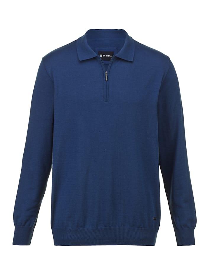BABISTA Pullover in angesagten Farbtönen, Blau