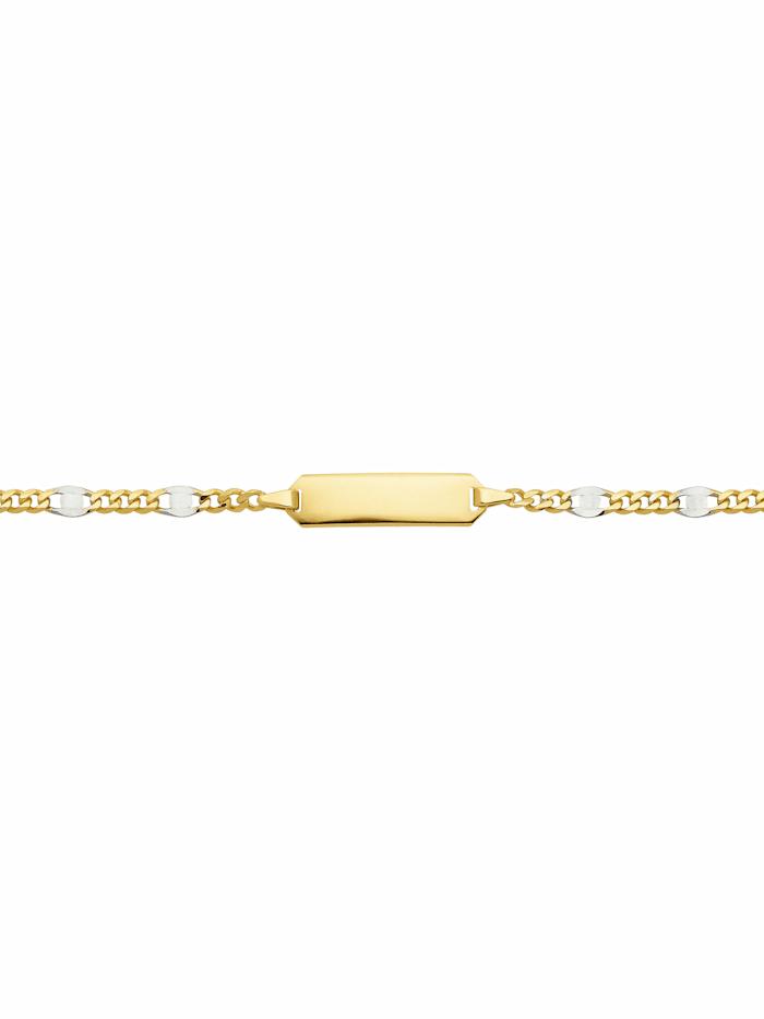 1001 Diamonds 1001 Diamonds Damen Goldschmuck 333 Gold Fantasie Armband 14 cm, gold