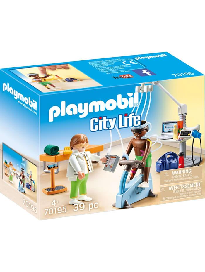PLAYMOBIL Konstruktionsspielzeug Beim Facharzt: Physiotherapeut, Bunt