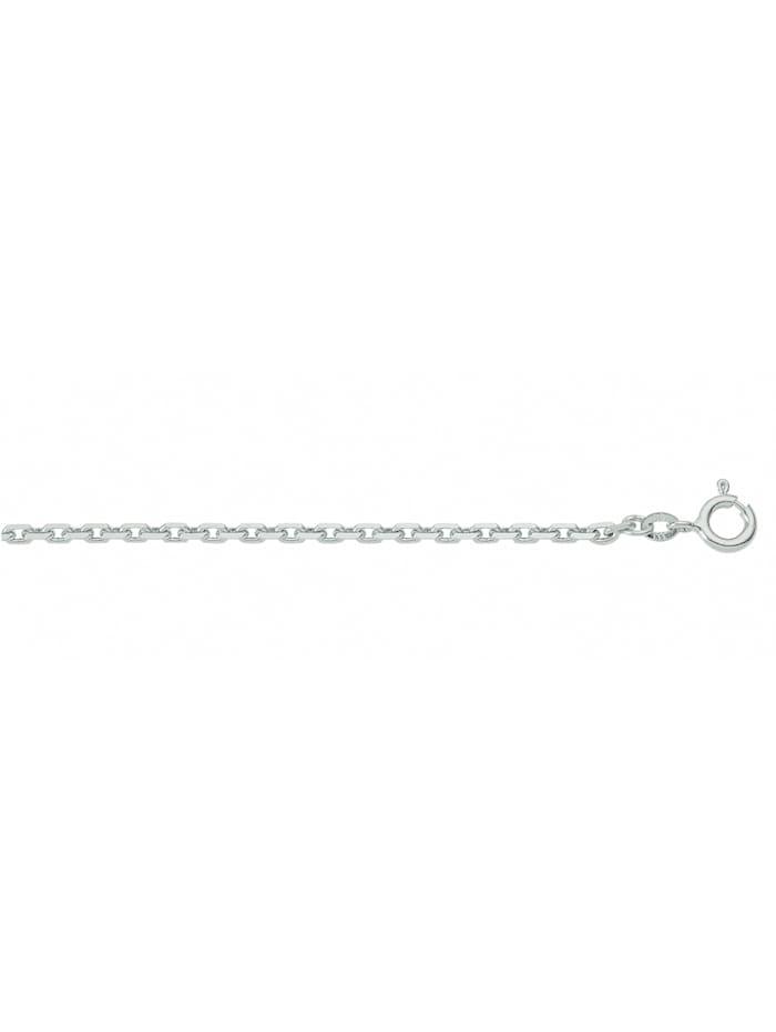1001 Diamonds Damen Silberschmuck 925 Silber Anker Halskette Ø 2,2 mm, silber