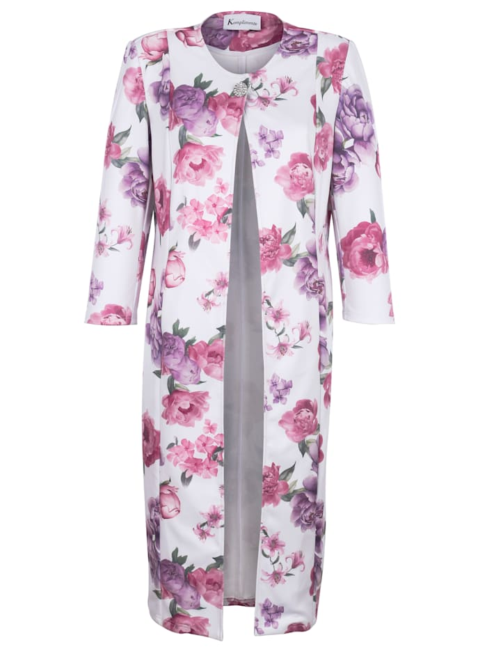 Veste à bel imprimé floral