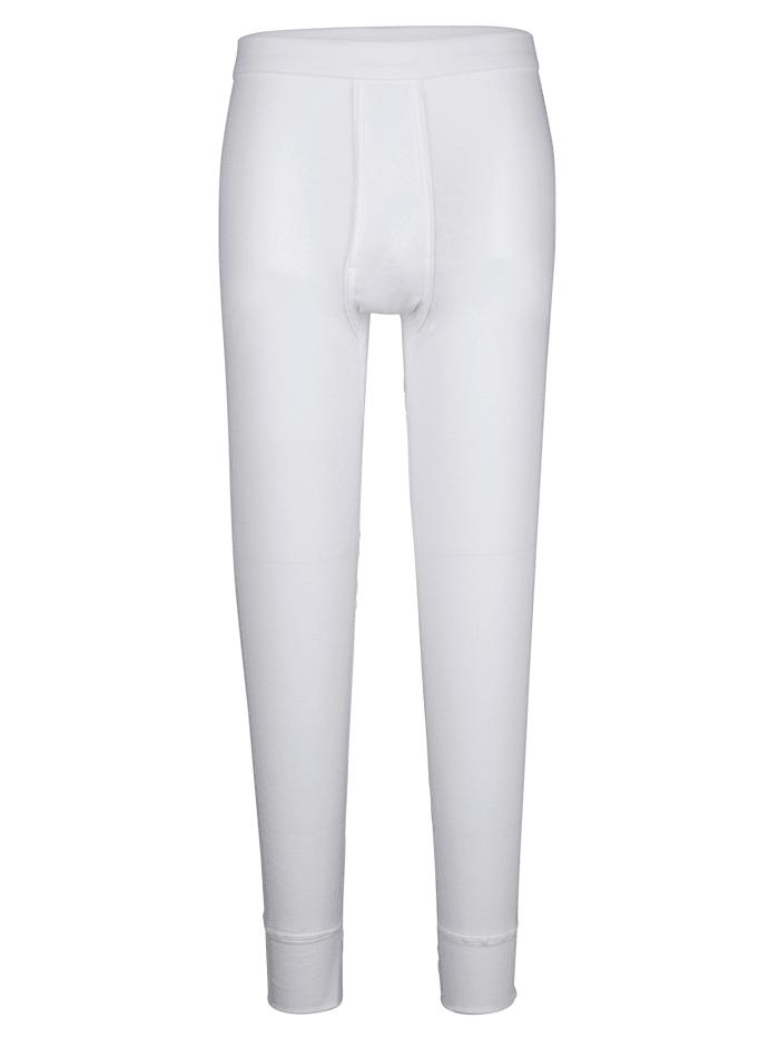 Pfeilring Lang underbukse i kjent merkekvalitet, Hvit