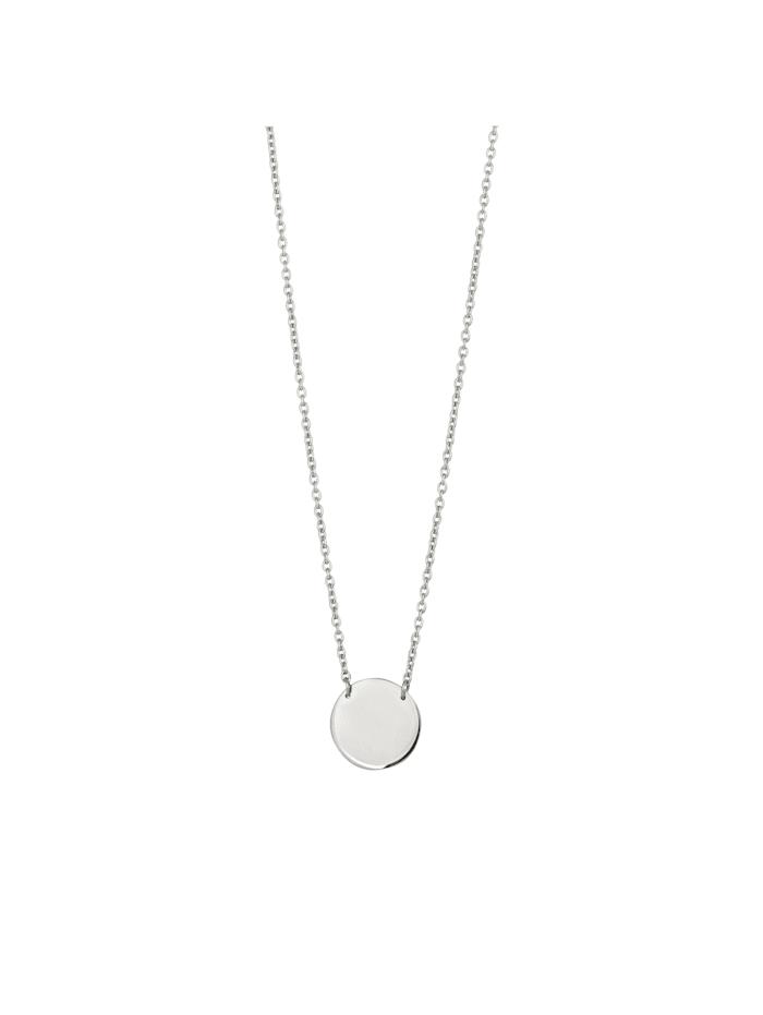 CAI Collier 925/- Sterling Silber 45+5cm Glänzend, weiß