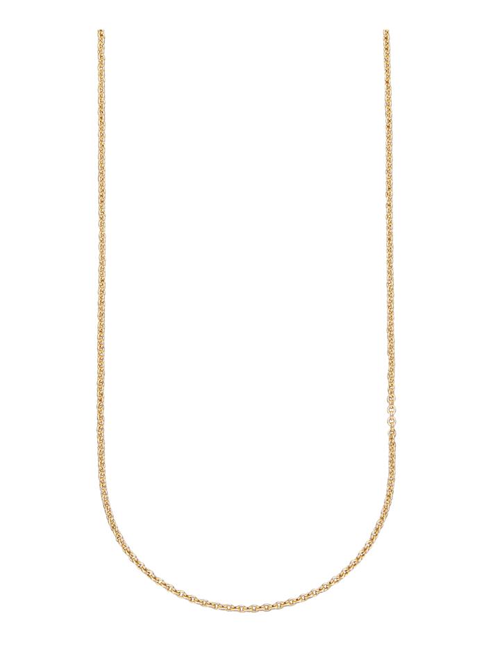 Amara Or Chaîne maille ancrée en or jaune, Coloris or jaune