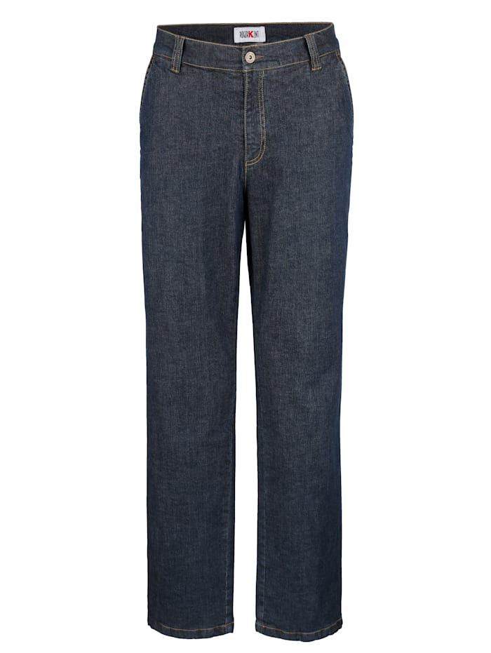 Roger Kent Thermojeans mit Flanell Innenfutter, Dark blue