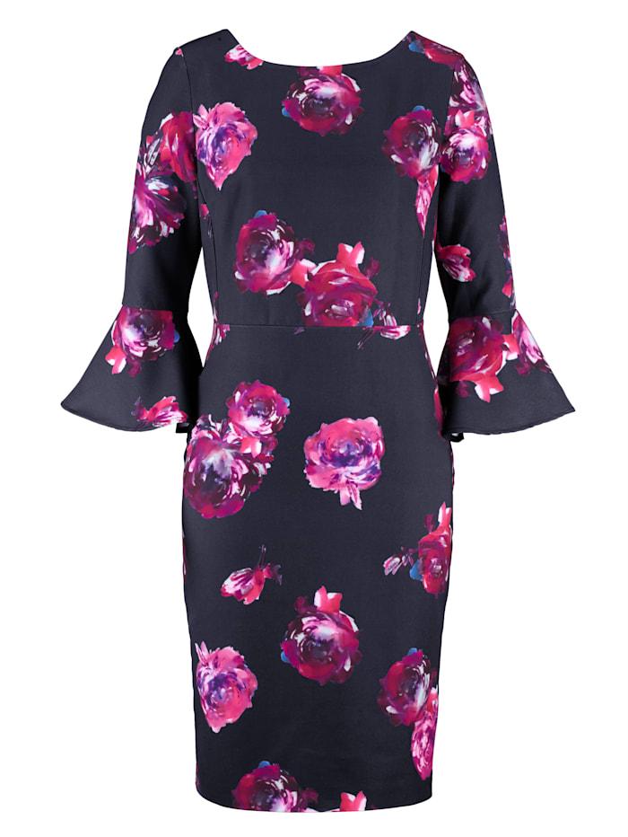 Kleid mit Alba Moda exklusivem Print