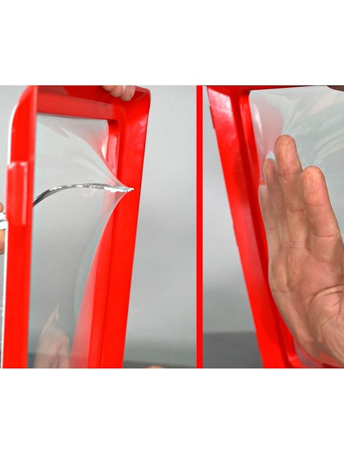 Genius Ideas 2er-Set Frischhaltesystem 'Clever Tray', oval 31 x 28 x 4,5 cm