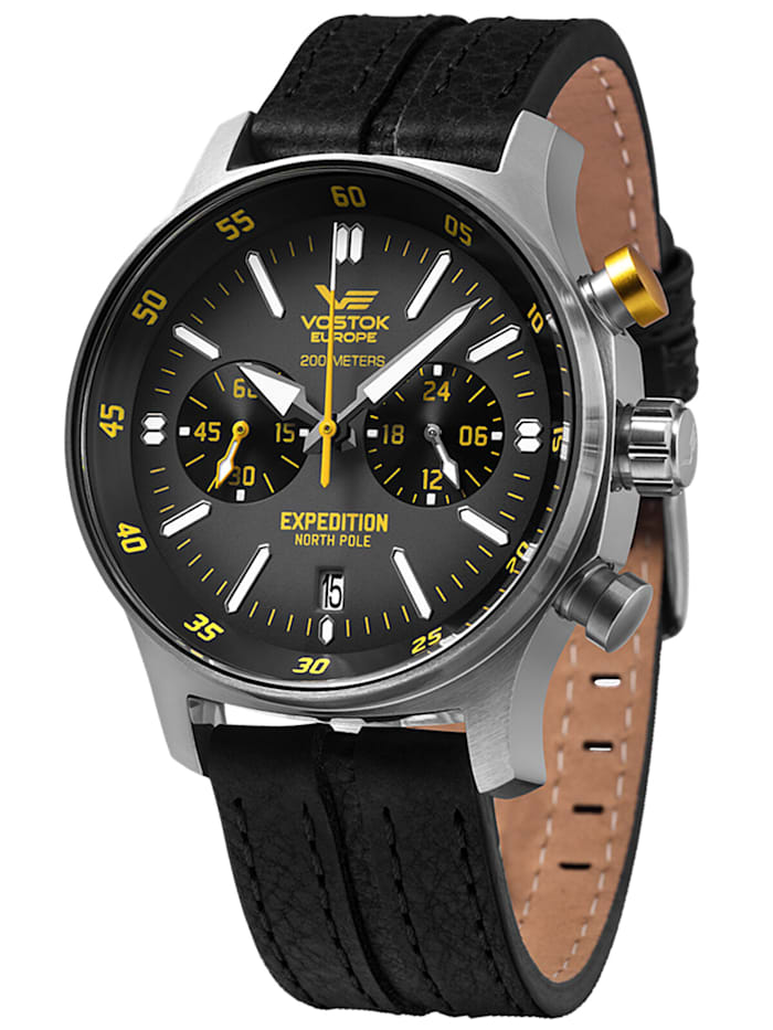 Vostok Europe Chronograph Expedition Nordpol 1, Anthrazit