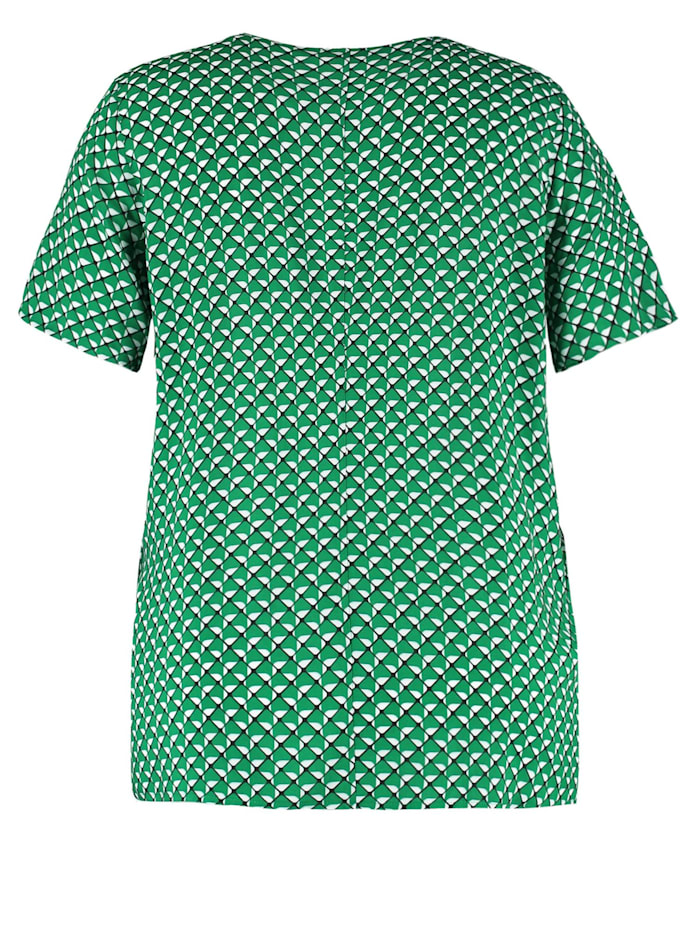 Blusenshirt mit Allover-Print