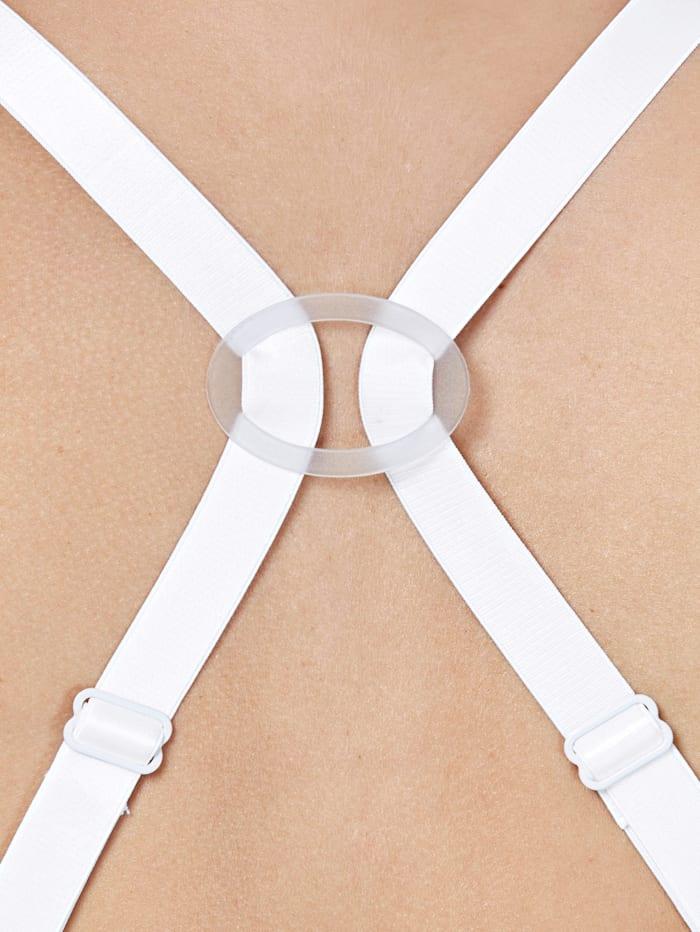 Läpinäkyvät vaihto-olkaimet ja olkainklipsit rintaliiveihin
