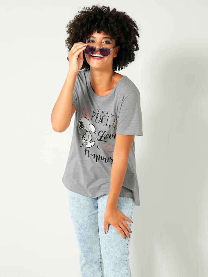 Angel of Style Shirt in losjesvallend model, Grijs