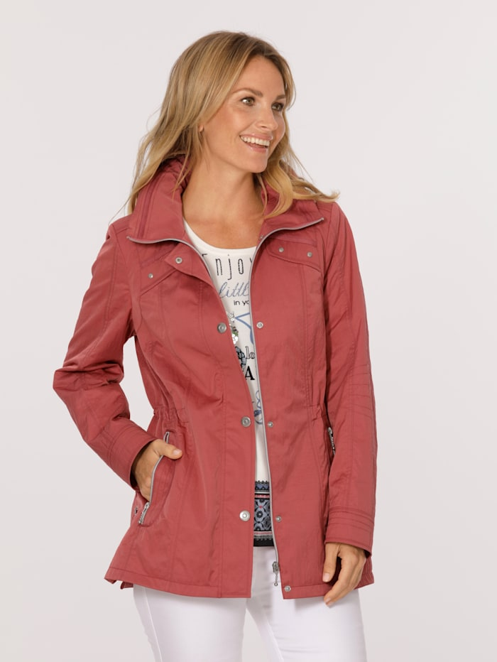 MONA Jacket in a lightweight design, Coral
