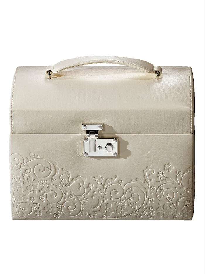 Golden Style Boîte à bijoux, Blanc