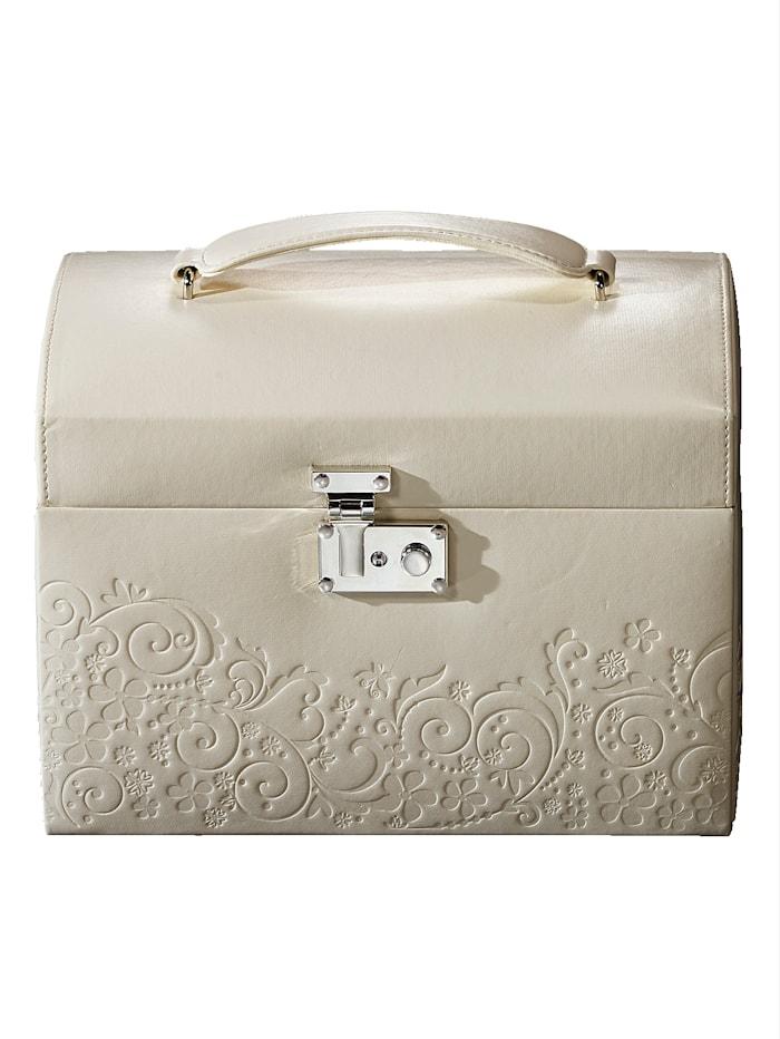Golden Style Sieradenkoffer, Wit