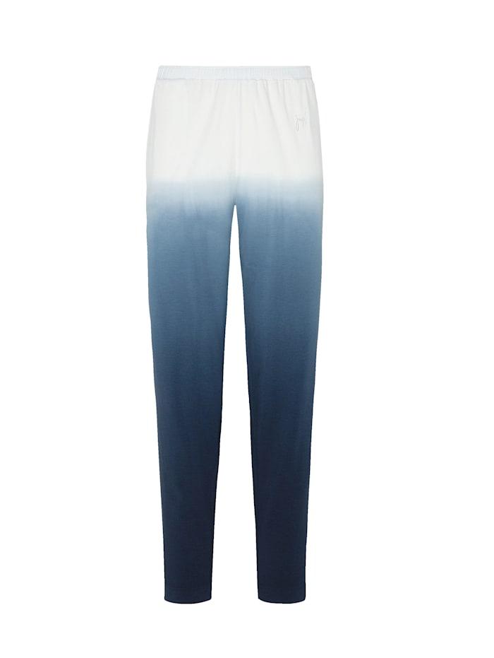 JOOP! Hose aus der Serie Soft Pop, Nachtblau/Ecru