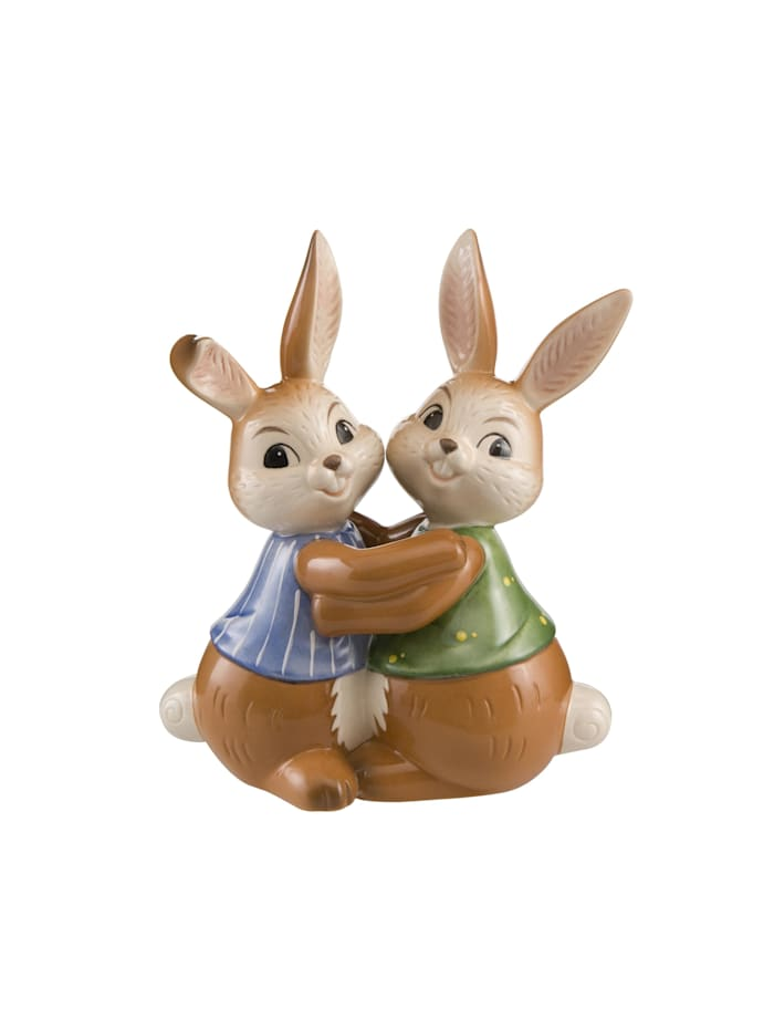 """Goebel Goebel Figur Hasenpaar - """"Beste Hasenfreunde"""", Bunt"""