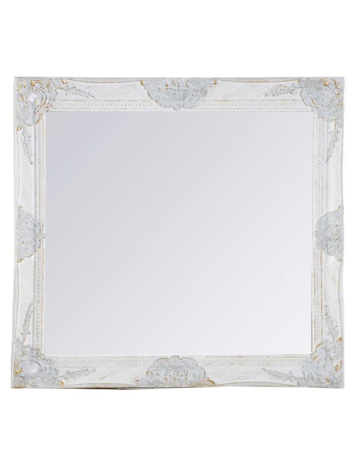 Miroir mural Rachelle, Blanc