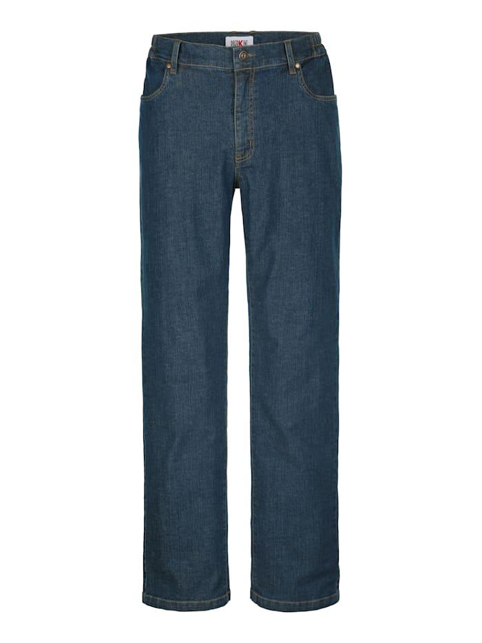 Jeans med komfortresår i linningen