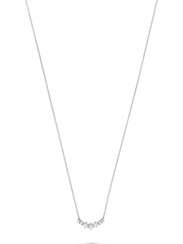 CHRIST C-Collection CHRIST Damen-Kette 585er Weißgold 5 Diamant, weißgold