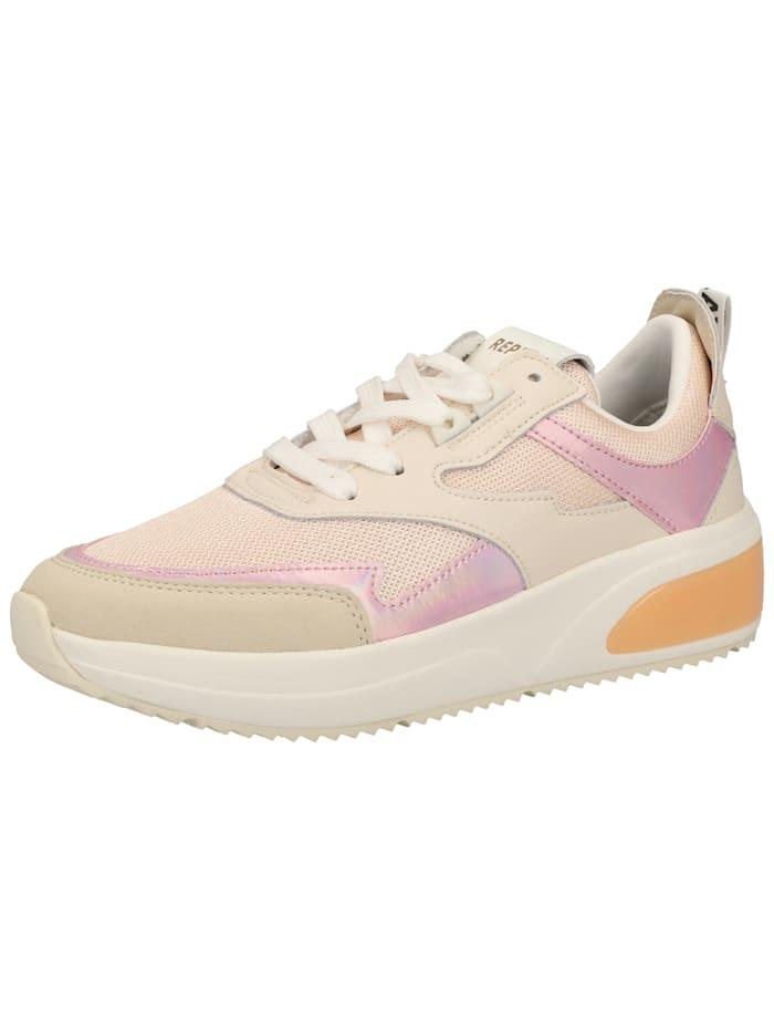 REPLAY REPLAY Sneaker, Beige/Pink
