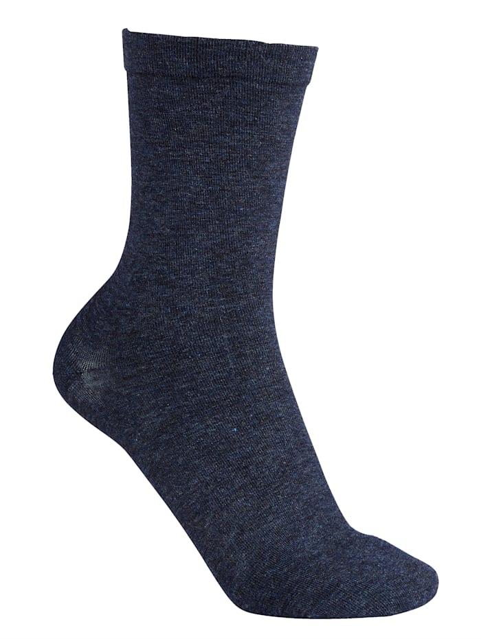 Pehmeäreunaiset sukat 2 paria