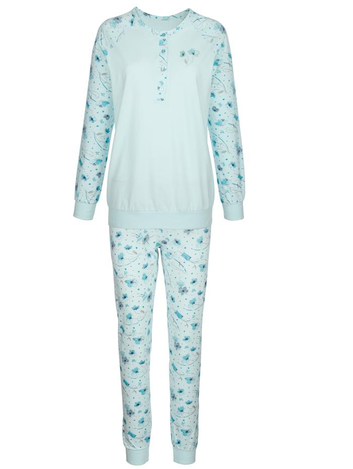 Pyjama met raglanmouwen 2 stuks