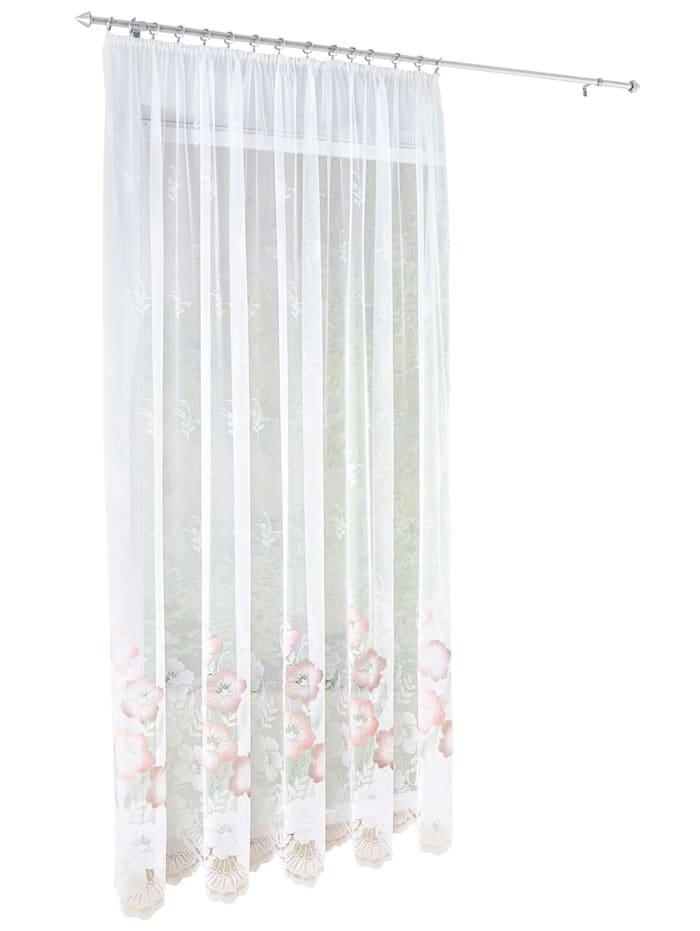 Žakárová záclona 'Amyra', Multicolor