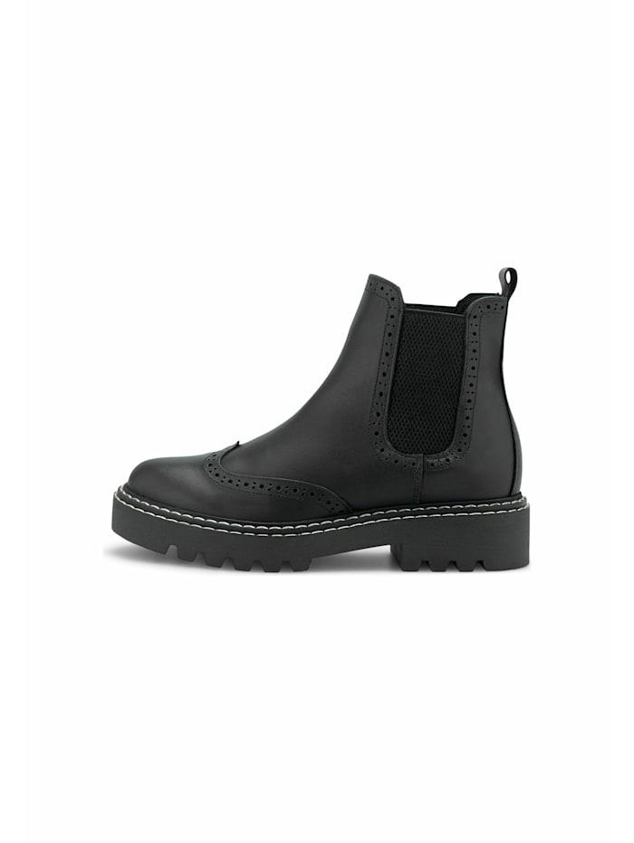 Chelsea-Boots Brogue-Chelsea