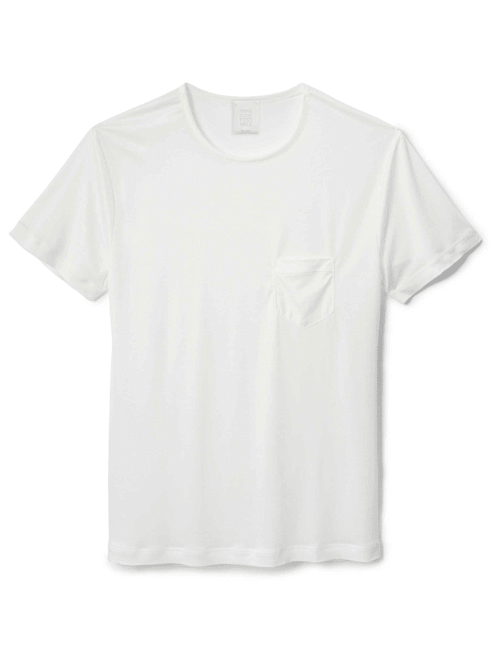 Calida Herren Kurzarm-Shirt, Compostable Ökotex zertifiziert, star white