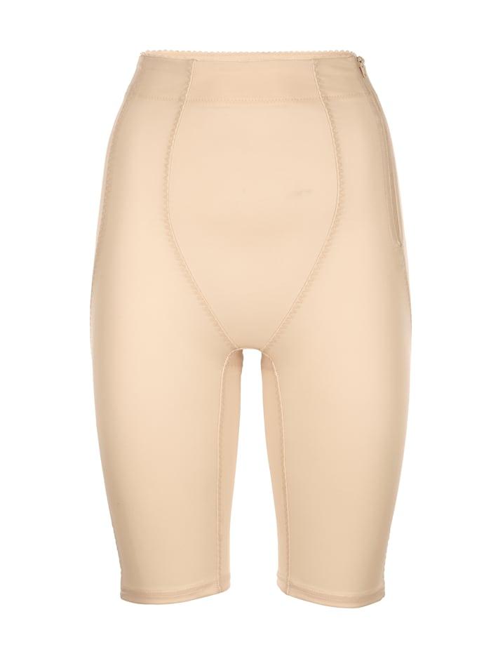 Kudreshov Culotte gainante à large taille extensible et confortable, Nude