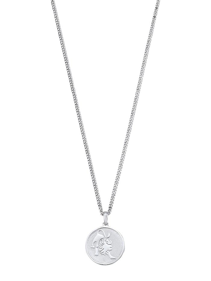 Halsband med stjärntecken Lejonet, Vit