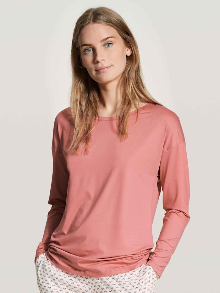 Calida Langarm-Shirt STANDARD 100 by OEKO-TEX zertifiziert, rosy glow