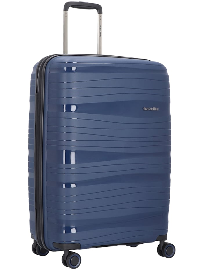 Travelite Motion 4-Rollen Trolley 67 cm, marine