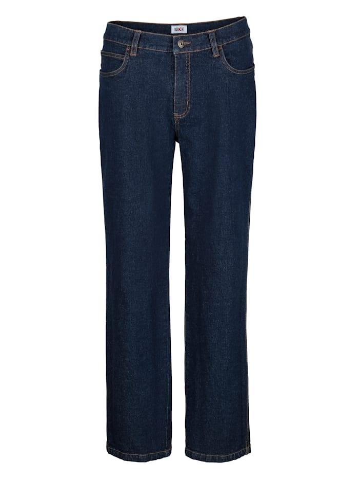 Roger Kent Jeans met elasthan, Dark blue