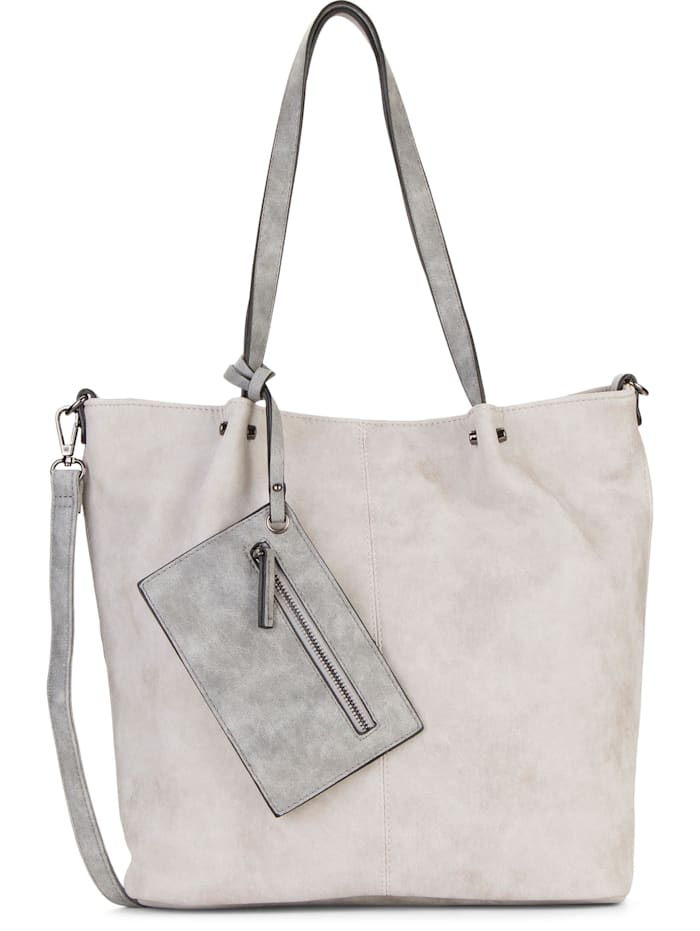 EMILY & NOAH EMILY & NOAH Shopper Bag in Bag Surprise EMILY & NOAH Shopper Bag in Bag Surprise Uni, lightgrey grey 838
