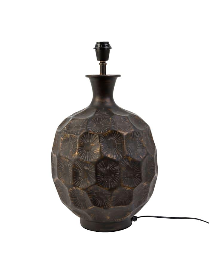 IMPRESSIONEN living Pied de lampe de chevet, Coloris cuivre