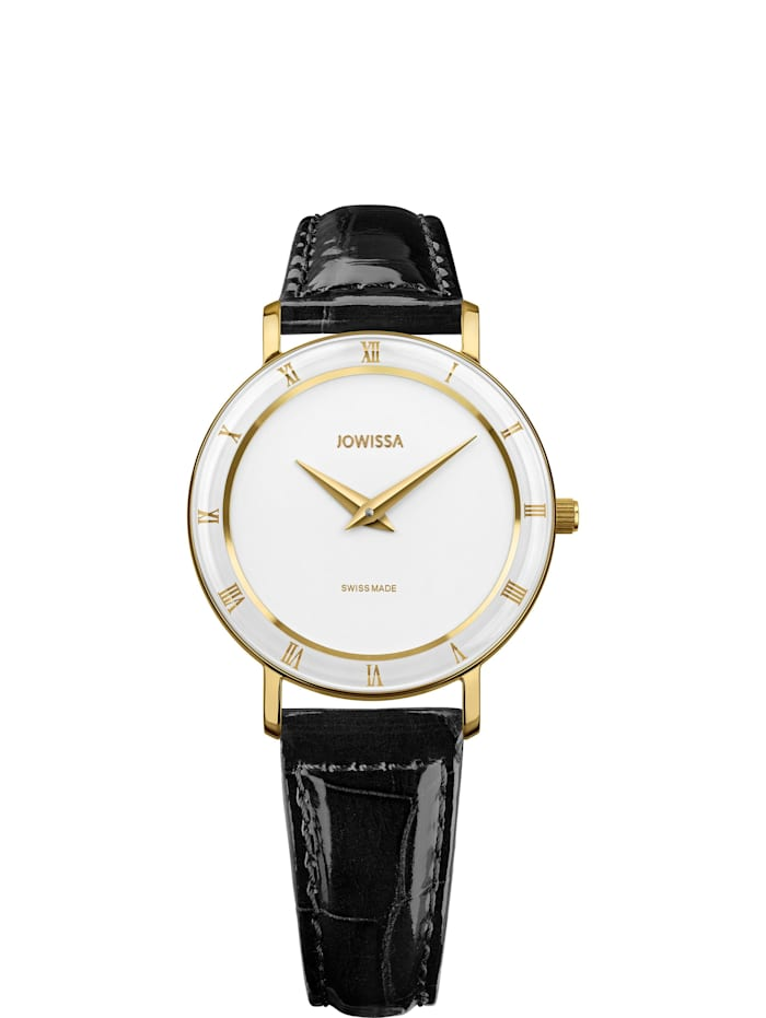 Jowissa Quarzuhr Roma Swiss Ladies Watch, weiß