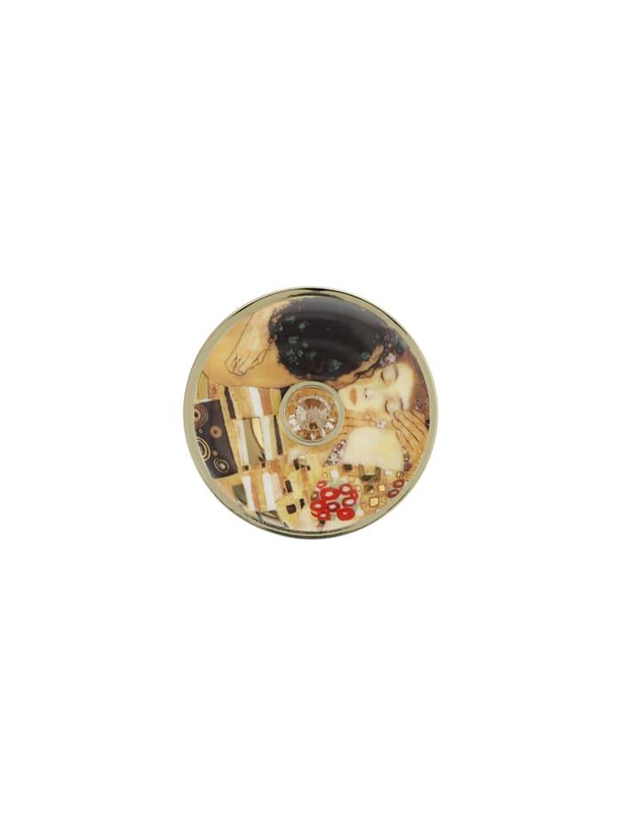 Goebel Goebel Brosche Gustav Klimt - Der Kuss, Klimt - Kuss