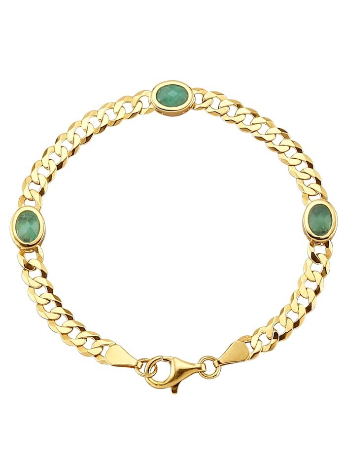 Armband met smaragden, Groen