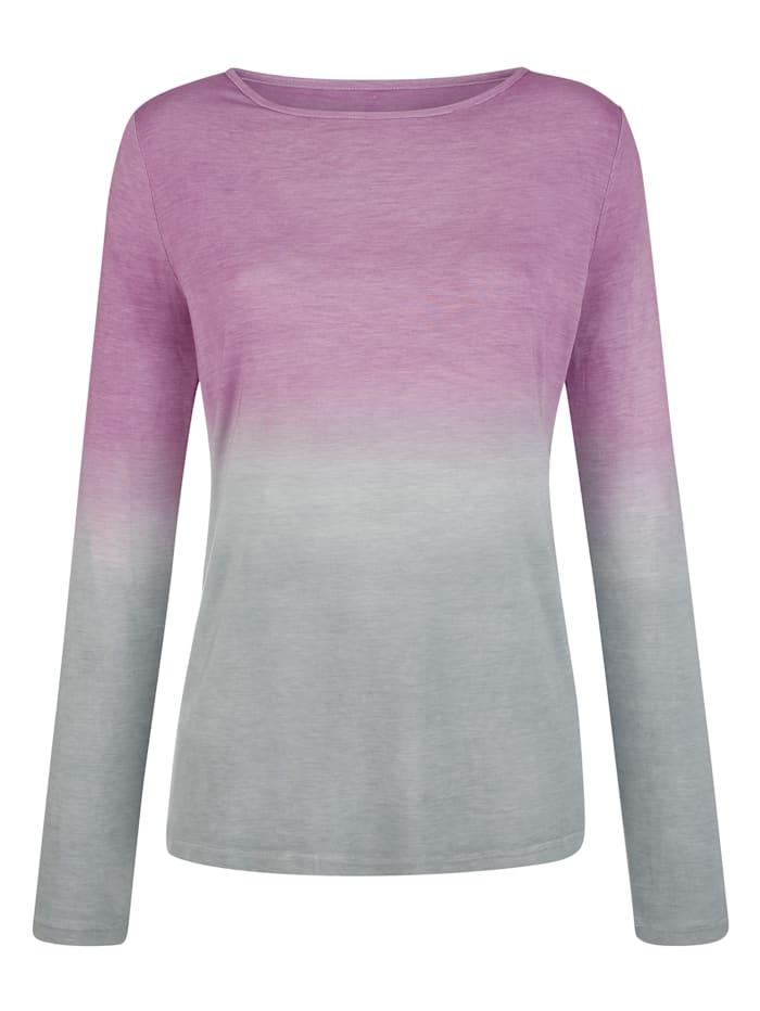 Shirt in Degrade-Optik