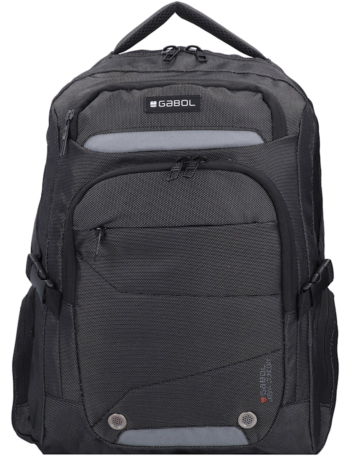 Gabol Back Rucksack 44 cm Laptopfach, anthrazit