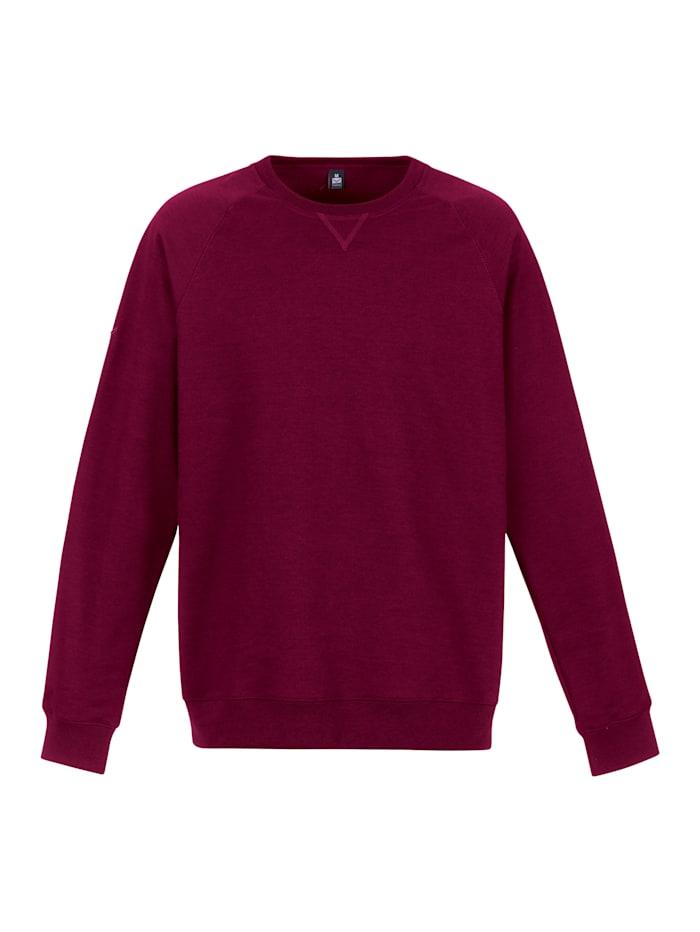 Damen Sweatshirt mit angerauter Innenseite
